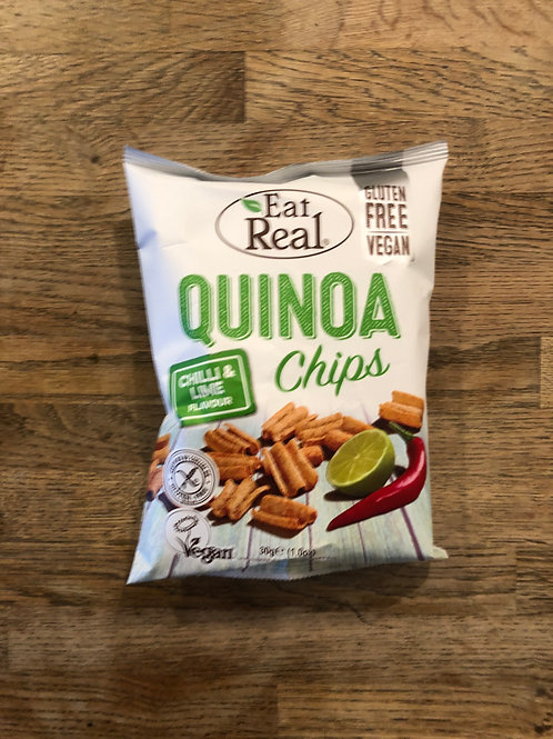 QUINOA CHIPS (Chilli & Lime)