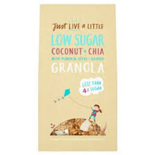 Just Live a Little - Coconut Granola