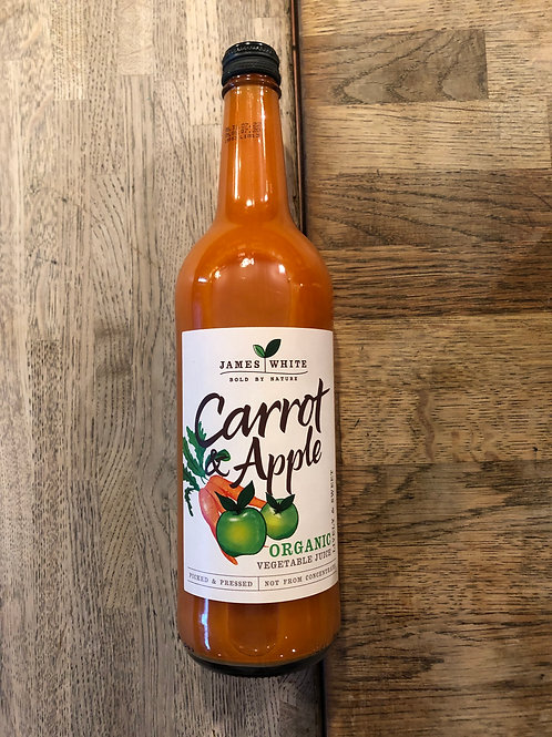 Organic Carrot & Apple Juice