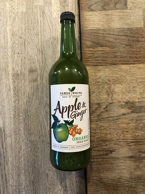 Organic Apple & Ginger Juice