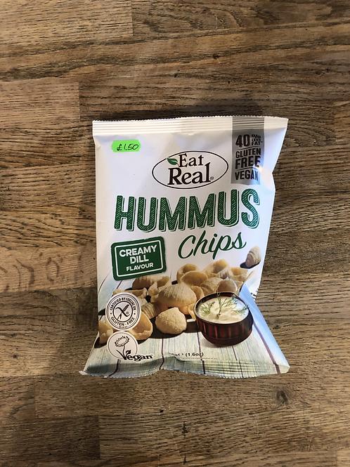 HUMMUS CHIPS (Creamy Dill)
