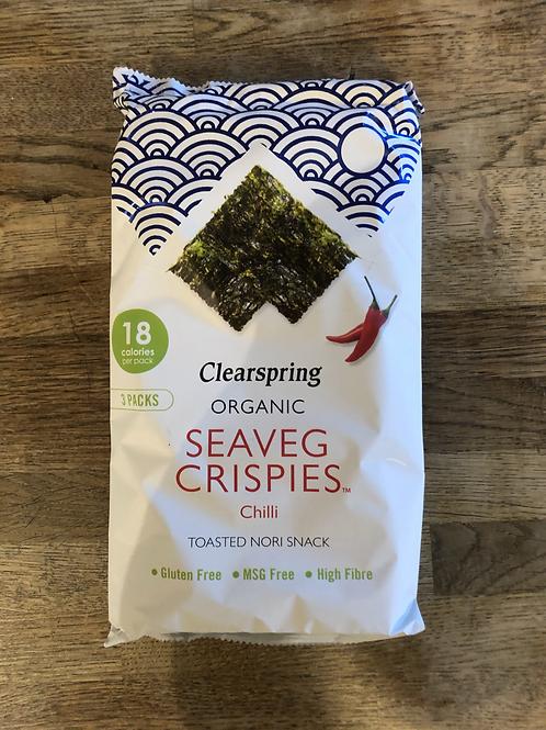 Organic Seaveg Crisps - Chilli