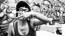Japanese female street artist, Shiro One, paves a unique path. 日本人女性ストリート・アーティストShiro Oneのユニークな草分け。