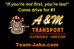 A&M Transport Logo