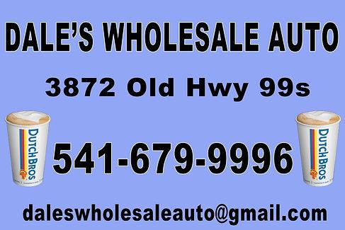 Dale's Wholesale Auto logo