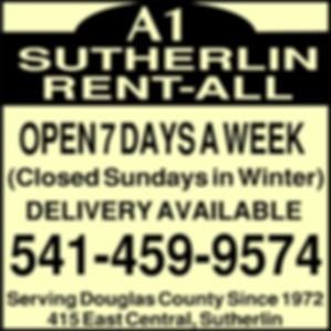 a1 sutherlin rental logo