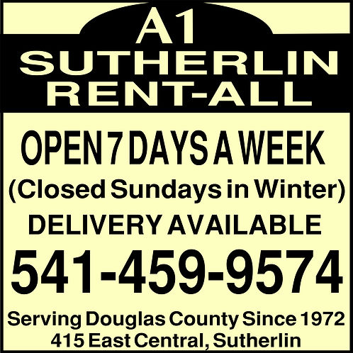 a1 sutherlin rental logo