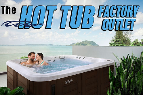 PRA Hot  Tub Factory outlet banner 4-13-
