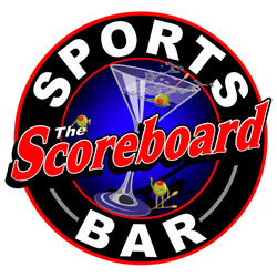 The Scoreboard Stacked Logo for tshirt