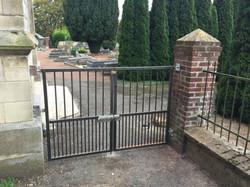 Portillon cimetière