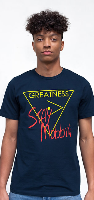 Stay Mobbin - Navy Blue
