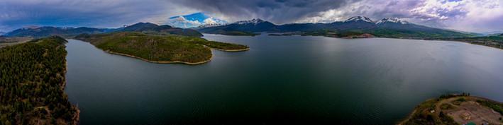 Dillon Lake Panorama 1