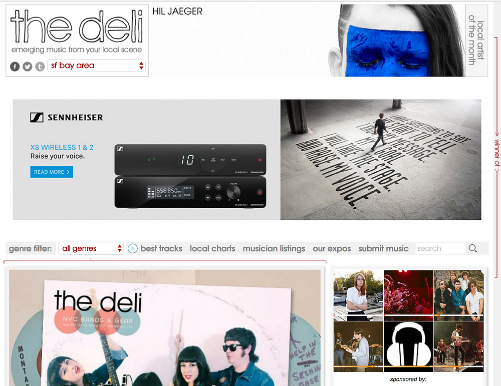 San Francisco Music Scene- The Deli Music Blog