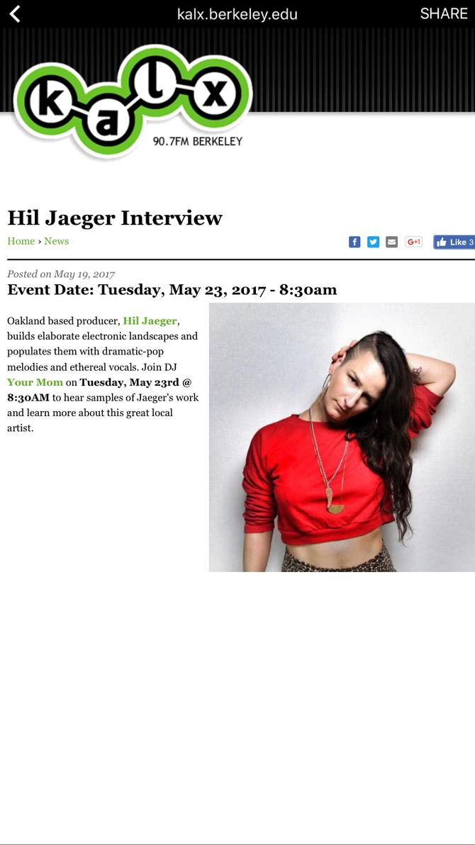 KALX INTERVIEW 90.7FM