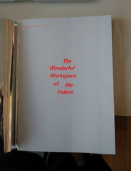 Book Launch 'The Wonderful Workspace of the Future'