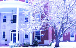 Retreat House in the Winter