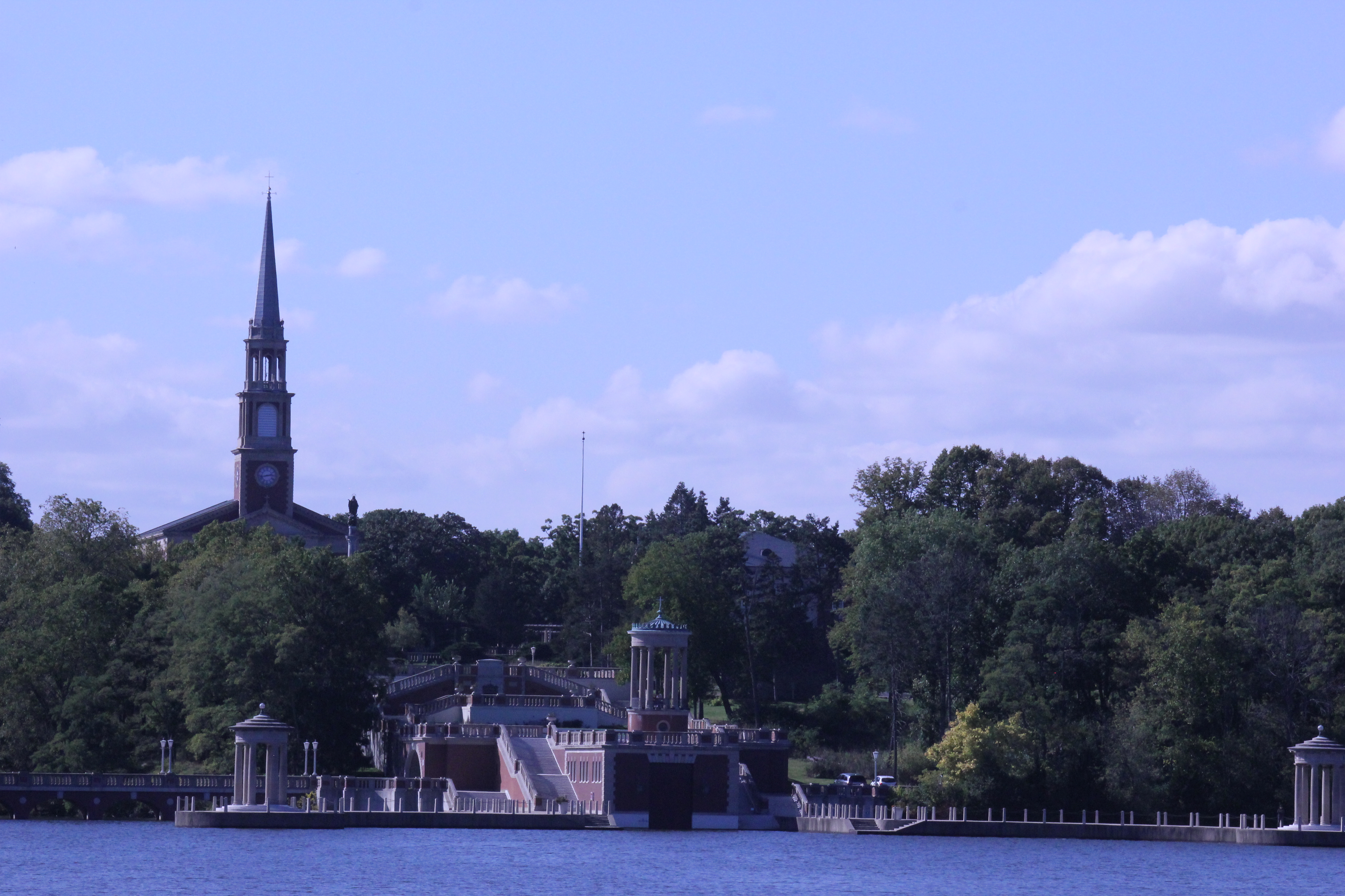 The Seminary View From the Lake