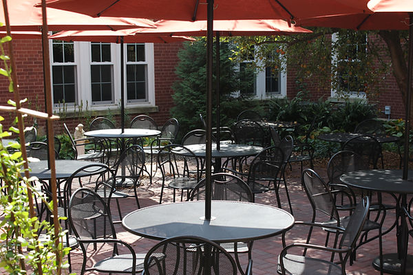 Cardinal Stritch Retreat House Outdoor Patio