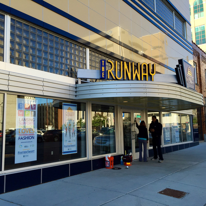 On The Town: Ribbon Cutting Ceremony at The Runway Fashion Incubator in Lansing