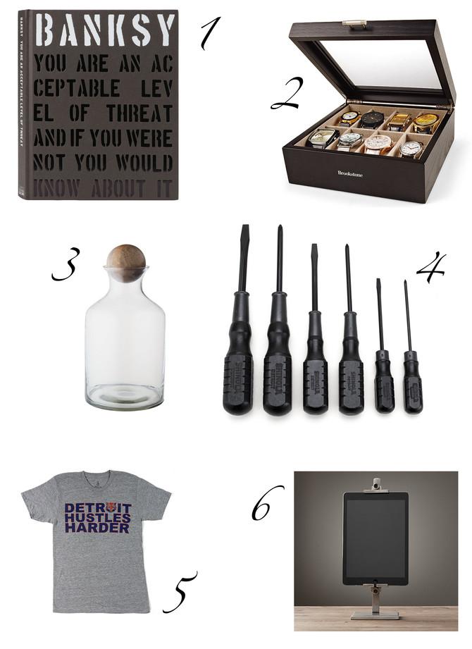 DG3's Gift Guide for Guys: Part 1