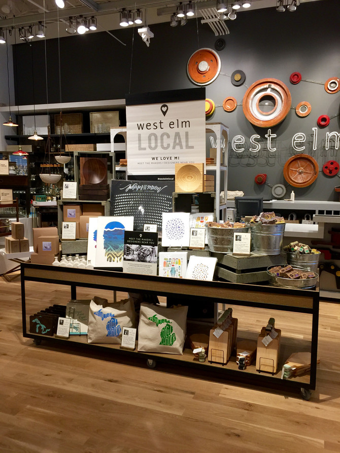 On The Town: West Elm Opens in Birmingham