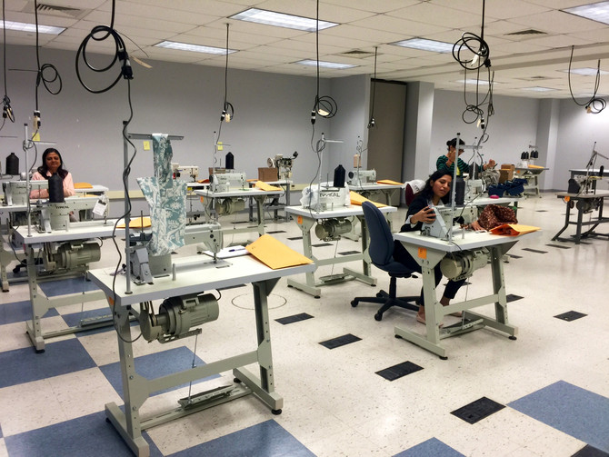 Industrial Sewing Certificate Program Orientation