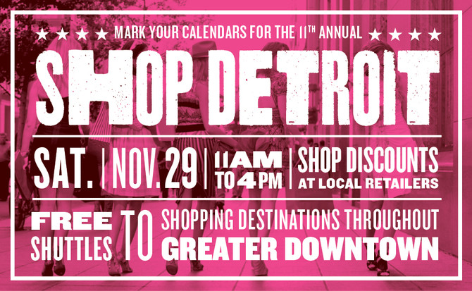 Oh, Shop It: Support Small Businesses During Shop Detroit