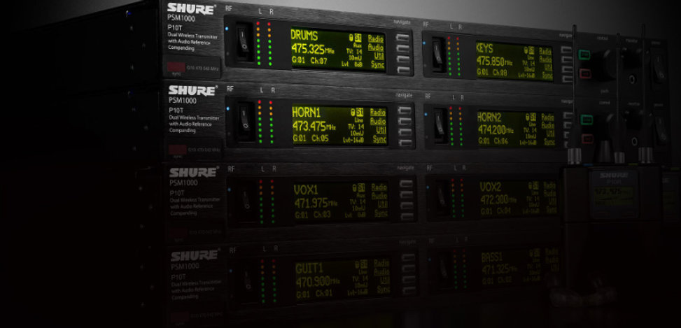 Shure PSM1000 sound