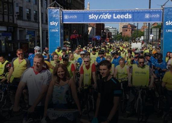 Outdoor Events Sky Ride Leeds