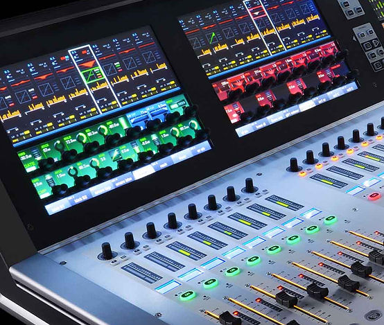 Vi3000 Mixing Desk Sound Console