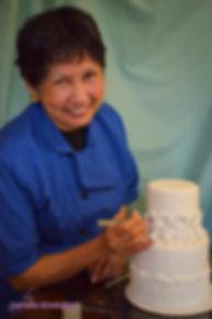 Chris Designing a Wedding Cake in Gainesville, GA