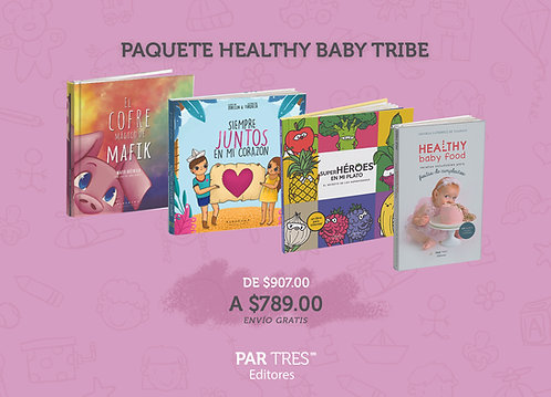 Paquete Healthy Baby Tribe