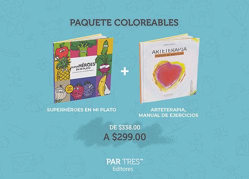 Paquete Coloreables