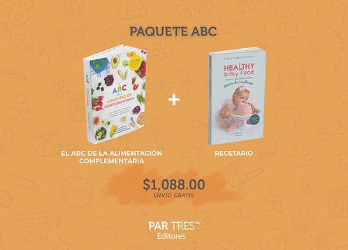 Paquete ABC y Recetario