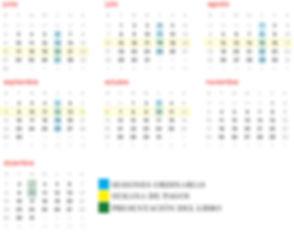 Calendario Taller 6