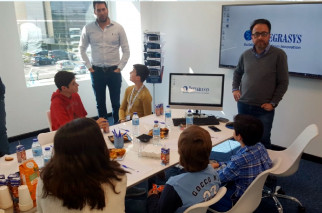 Integrasys hosts Open Day for Dyslexia Charity, Madrid con la Dyslexia