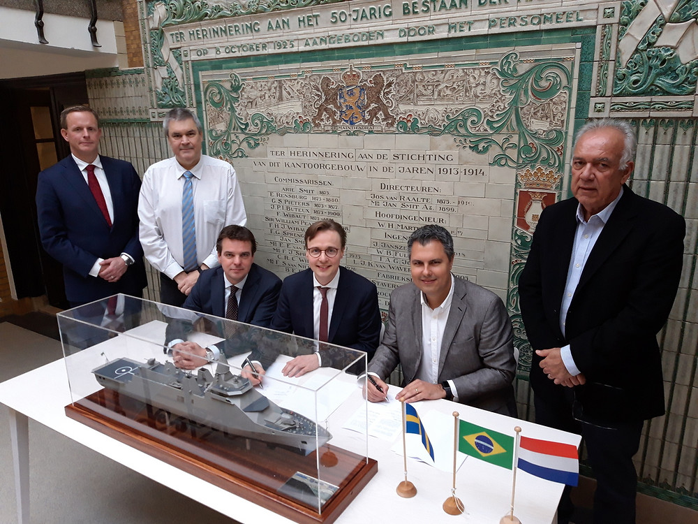 WEG and Praxis sign MoU to support Damen Saab bid for the Brazilian Navy