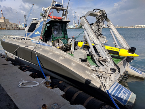 Elbit Systems' Seagull USV completed intensive sea tests with Kraken's KATFISH sonar