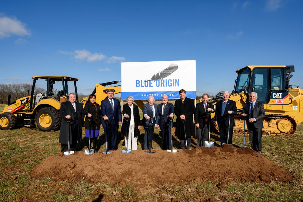 Blue Origin breaks ground on Huntsville engine production facility