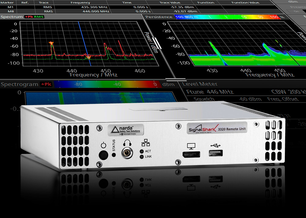 New remote real-time spectrum analyser provides powerful and versatile tool for radio-monitoring applications