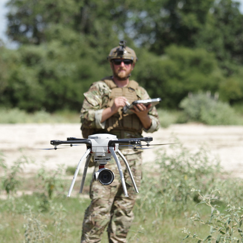 SkyRanger awarded 'safe to operate' certification by UK Ministry of Defence