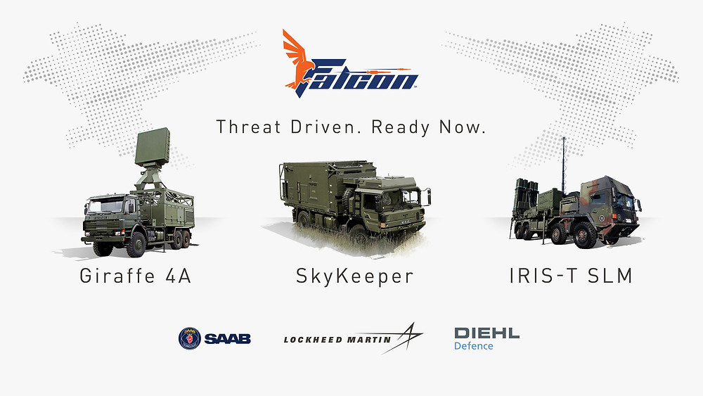 Lockheed Martin, Diehl and Saab unveil collaboration to counter emerging short and medium-range threats with Falcon weapon system