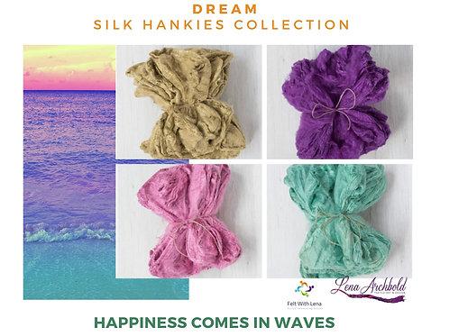 Silk Hankies Collection - Dream, 20 grams