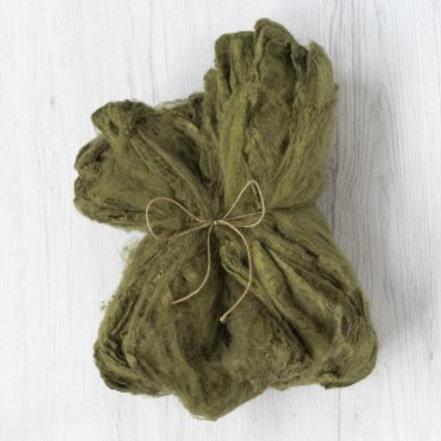 Silk Hankies - OLIVE, 10 grams
