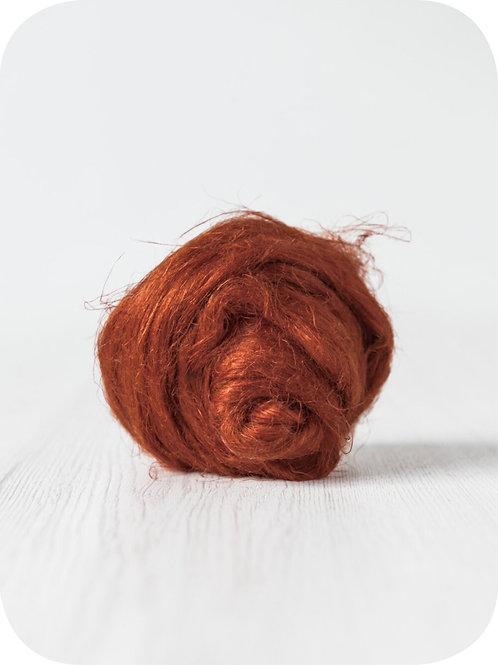 Flax (Linen) - Rust, 50 grams