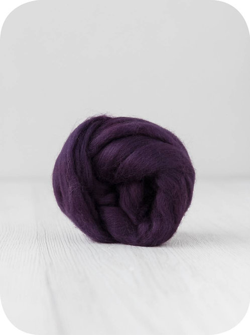 19 mic Superfine Merino Wool - Blackberry, 50 g (1.76 oz)