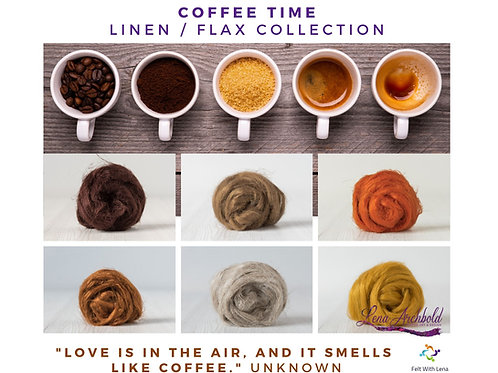 Flax Collection - Coffee Time, 200 grams