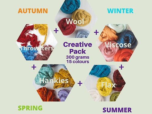Creative Feltmaking Pack by Season