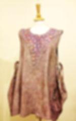 Nuno Felted dress workshop Lena Archbold
