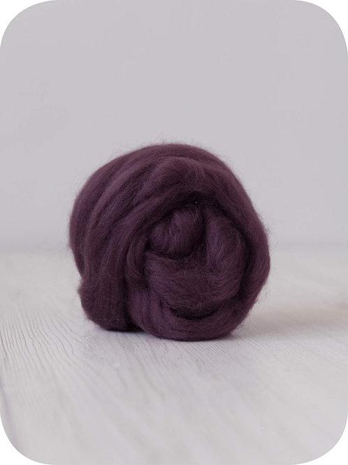 19 mic Superfine Merino Wool - Purple, 50 g (1.76 oz)
